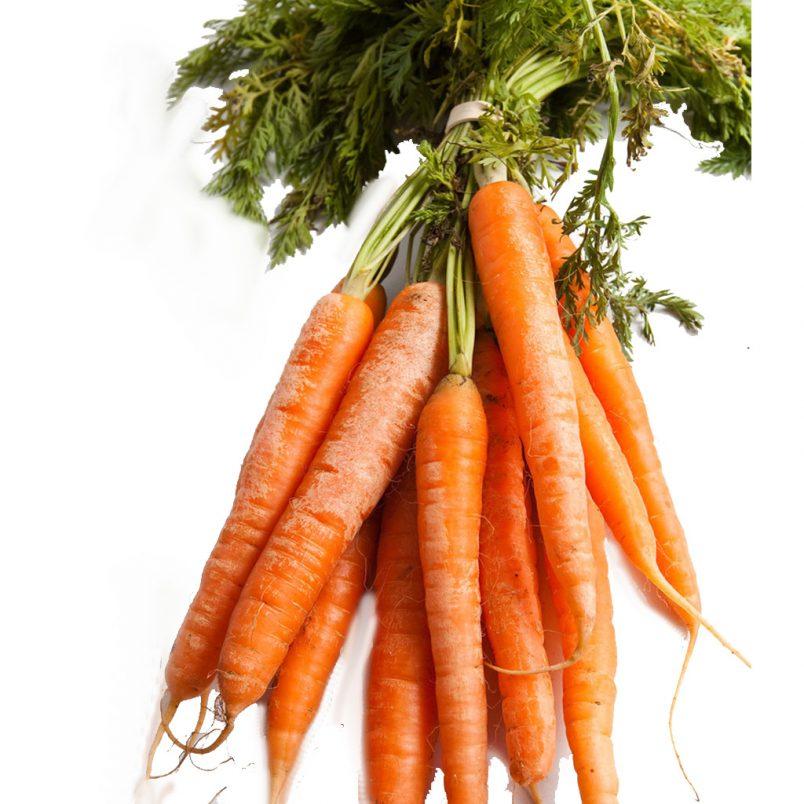 Fresh Organic Carrots Vegetable