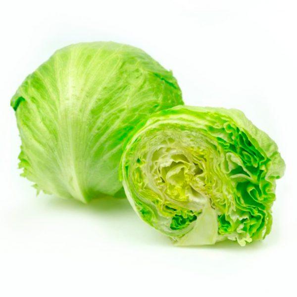 Fresh Organic Iceberg Lettuce Vegetable