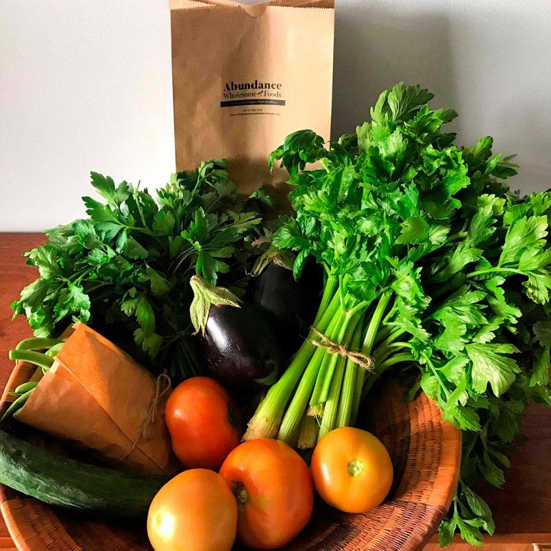 Fresh Organic Large Mixed Veggie Box