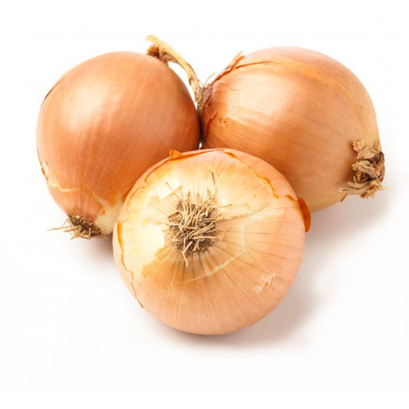 Fresh Organic Brown Onions Vegetable