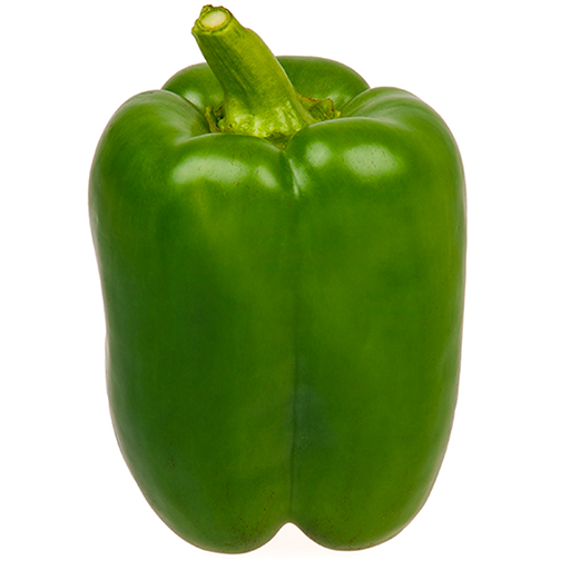 Fresh Organic Green Pepper Vegetable