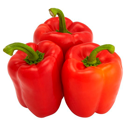 Fresh Organic Red Pepper Vegetable