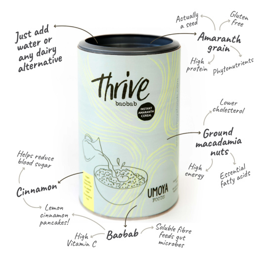Thrive Baobab Cereal Tube