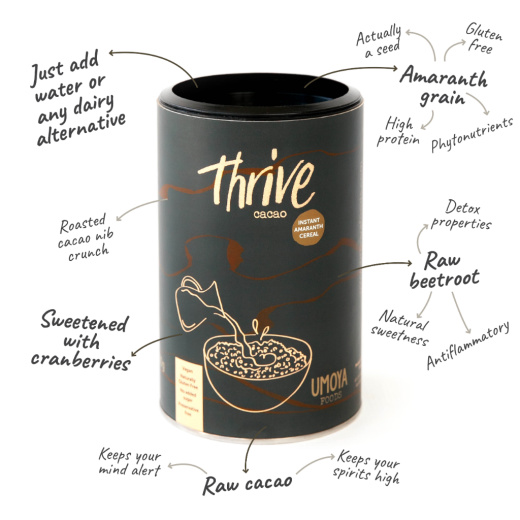 Thrive Cacao Cereal Tube